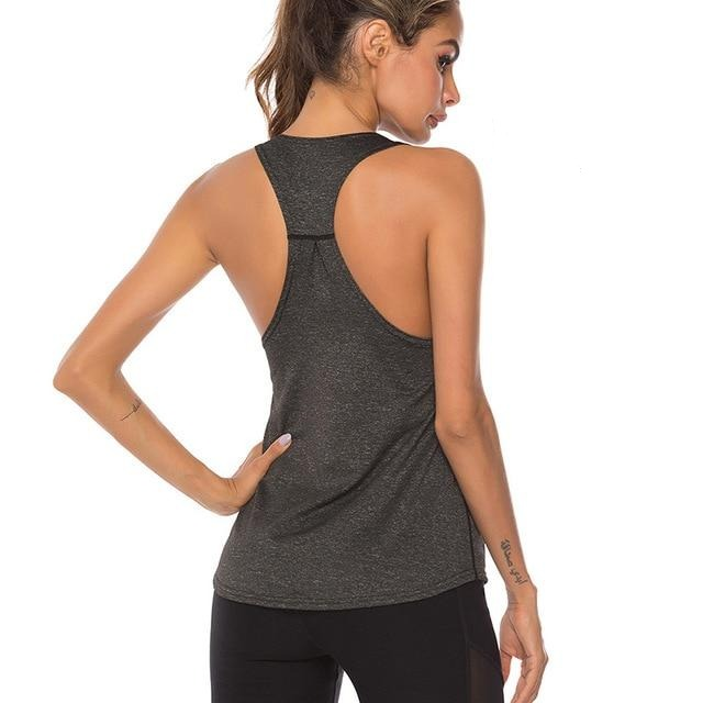 Sleeveless Tank Top - Dark - Gopositivo.co