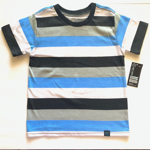 Toddler's Printed Neon Striped Crews TRX44
