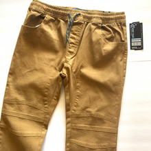 Load image into Gallery viewer, Boy's Stretch Twill Moto Jogger BST400