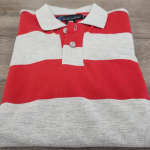 Boy's & Kid's Striped Rugby Polo