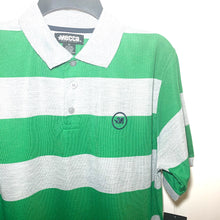 Load image into Gallery viewer, Men's Striped Jersey Polo 14MC MR7