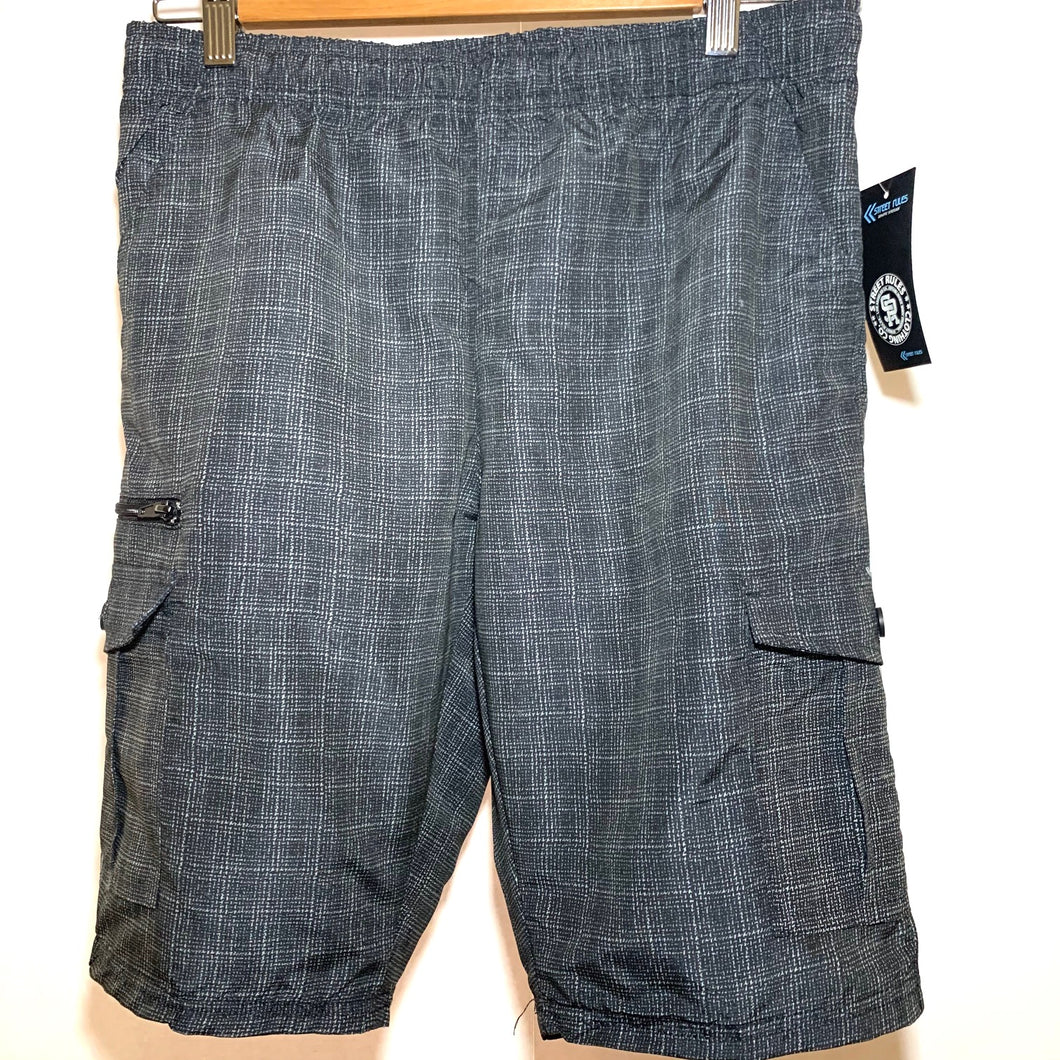 Men's Printed Micro Fiber Pull on Shorts