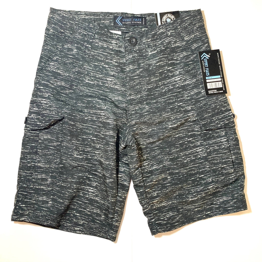 Boy's Printed MF Cargo Shorts BPR416