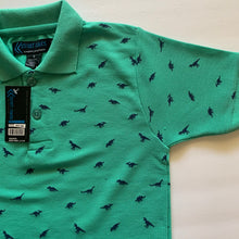 Load image into Gallery viewer, Kid's Printed Pique Polo KPK106