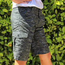 Load image into Gallery viewer, Boy's Printed MF Cargo Shorts BPR416
