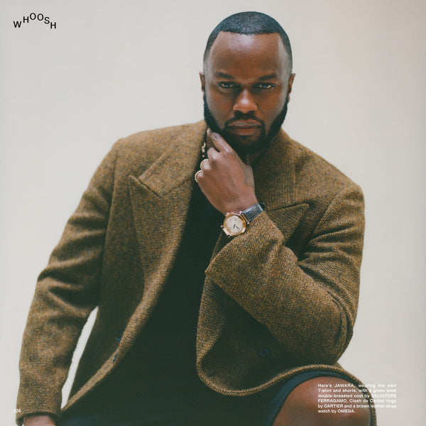 Fantastic Man Magazine Issue 32. The Hair Issue with stylist Jawara