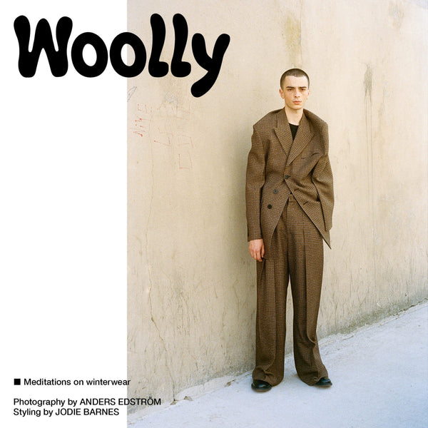 Fantastic Man Magazine Issue 32. The Hair Issue with a feature on woolly winterwear