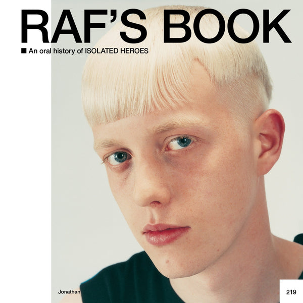 Fantastic Man Magazine Issue 32. The Hair Issue with Raf Simons Hair Book