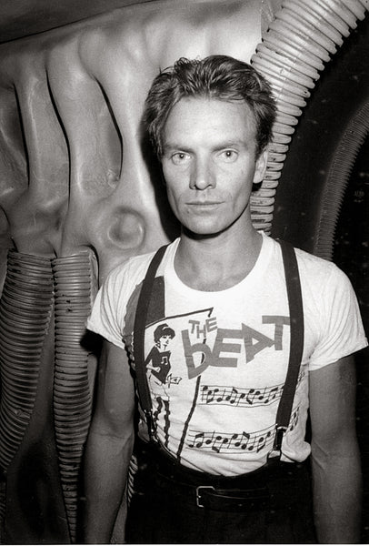 Sting at area nightclub