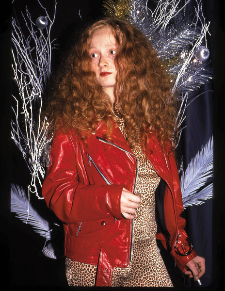 Grace coddington at Area Nightclub