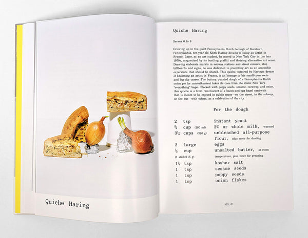Quiche Haring recipe in Le Corbuffet, a book by Esther Choi