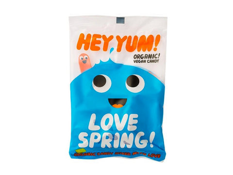 Hey Yum! Organic Gummy Candy, Love Spring vegan flavor