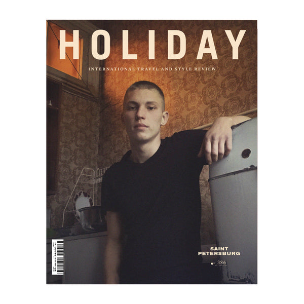 Holiday Magazine 386 The Saint Petersburg Issue, Boy Cover