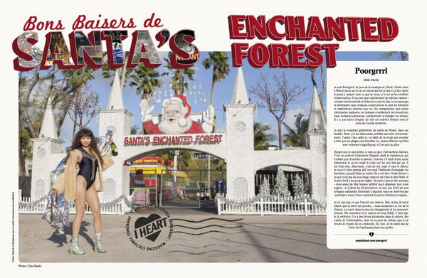 Santa's Enchanted Forest in I Heart Miami