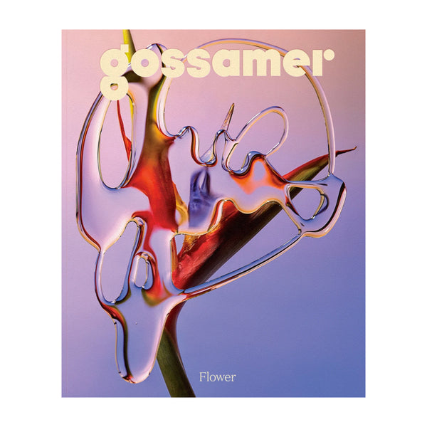 "Gossamer Issue 5: The Flower Issue. Gossamer is a magazine ""for people who also smoke weed."""