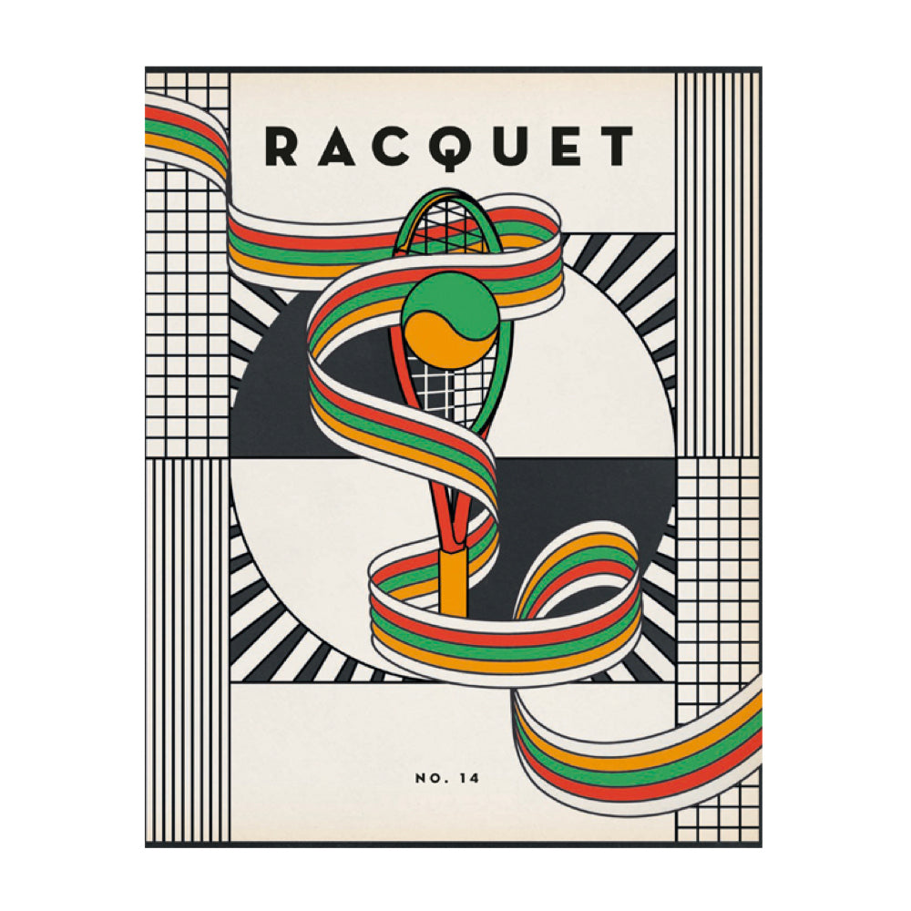 Racquet Issue 14: The Solitary Pursuits issue. A magazine about tennis culture.