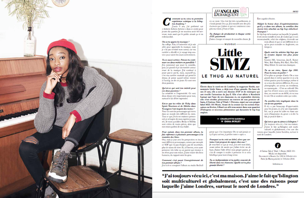 Little SIMZ in I Heart Londres.