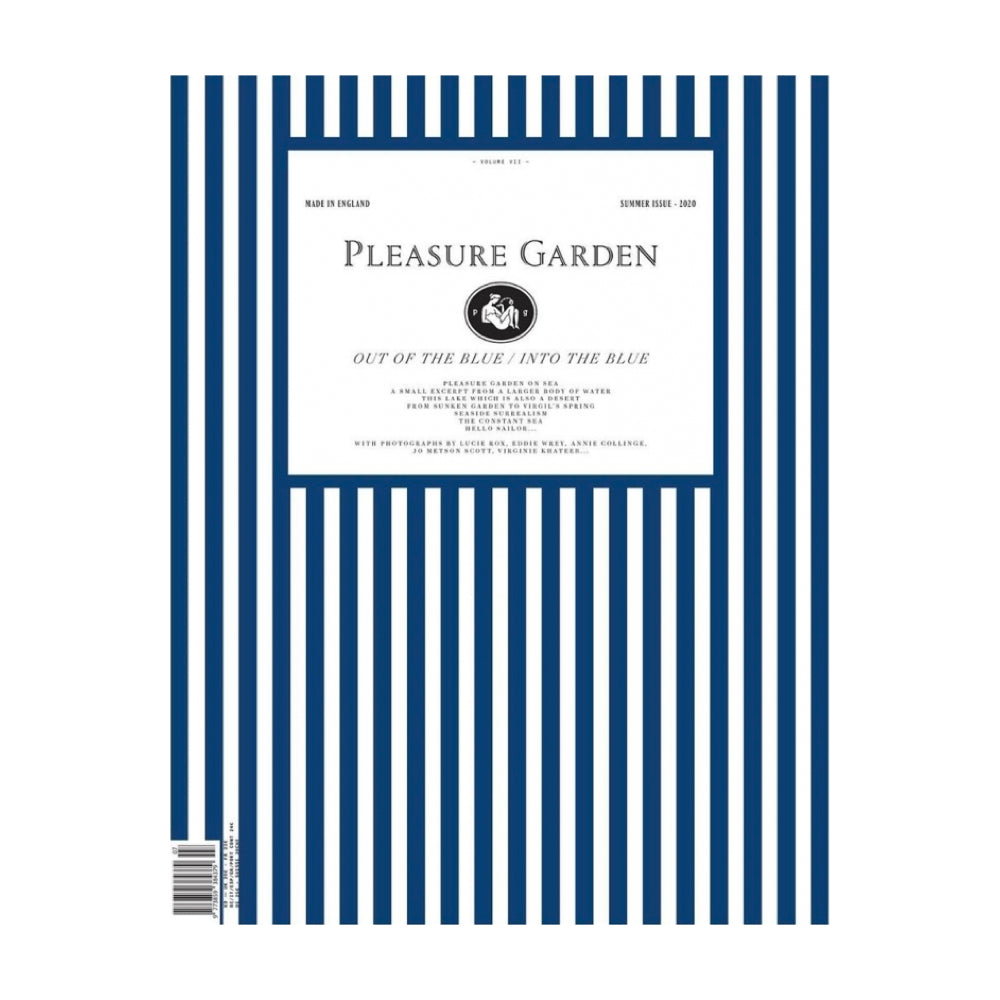"Pleasure Garden Magazine Issue 7 ""Out of the Blue / Into the Blue"""