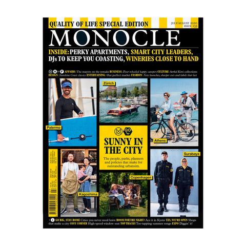 Monocle Magazine July/August 2020. Issue 135.
