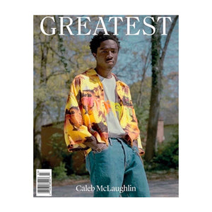 Greatest Magazine Issue 3. Stranger Things star Caleb McLaughlin on the cover.