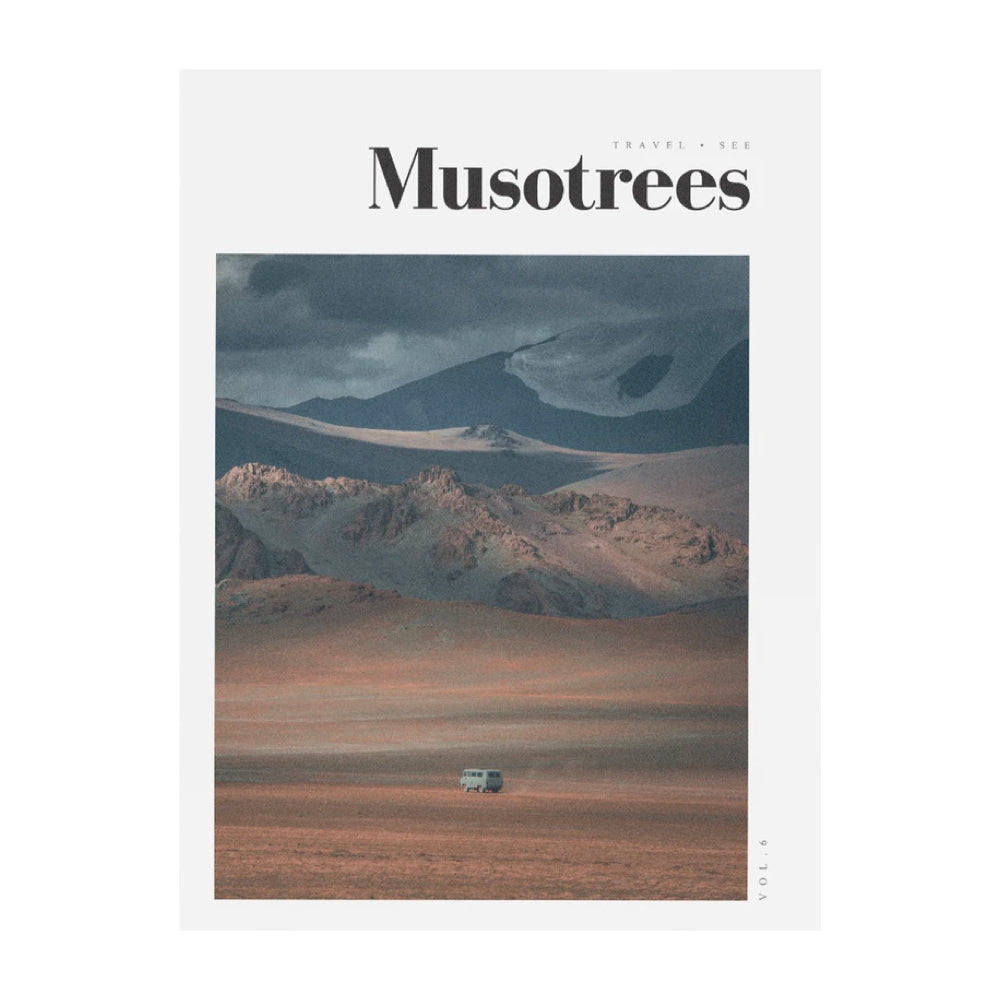 Musotrees Magazine Issue 6. Travel Magazine