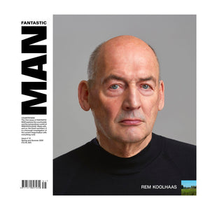 Fantastic Man Magazine Issue 31. Rem Koolhaas on the cover