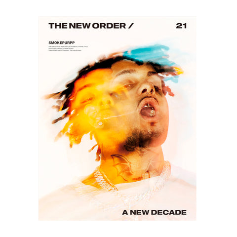 The New Order magazine Issue 21: A New Decade. Smokepurpp on the cover.