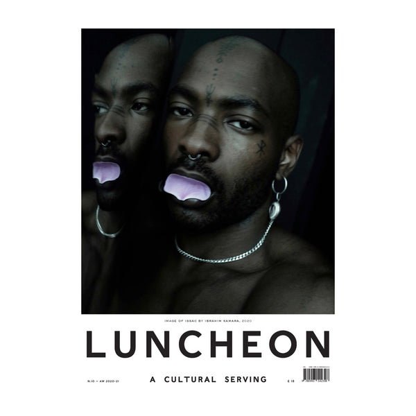 Luncheon Issue 10. On the cover: Image of Issac by Ibrahim Kamara, 2020