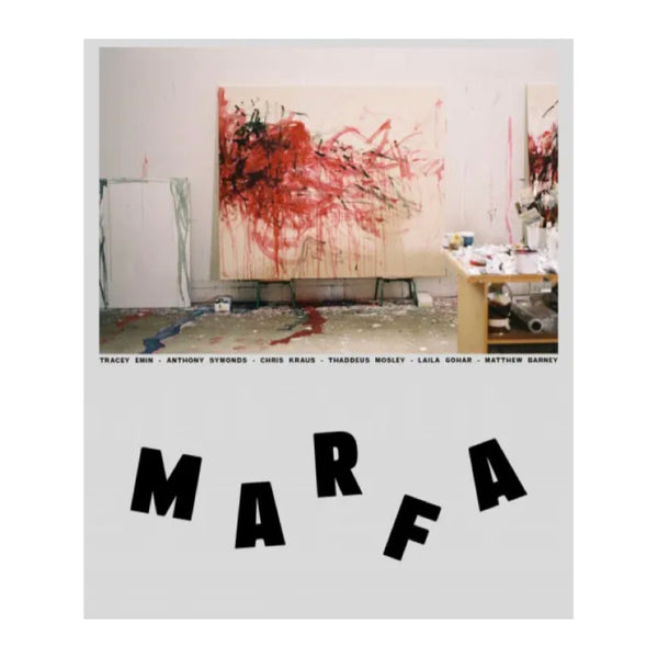 MARFA issue 14, Tracey Emin cover