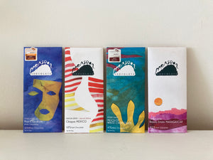 Monsoon Artisanal Chocolate Bars
