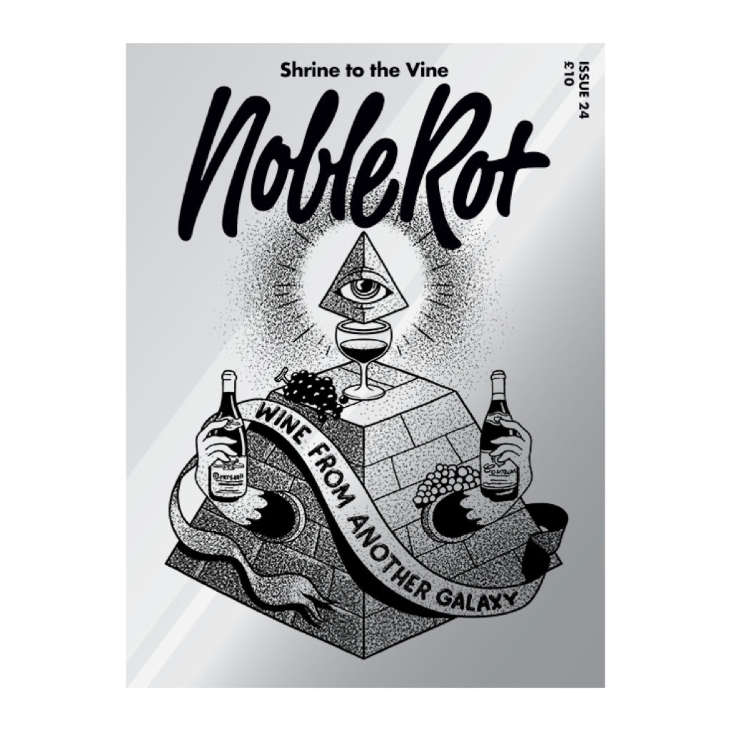 Cover of Noble Rot Wine Magazine, Issue 24: Wine From Another Galaxy