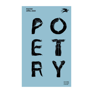 Cover of Poetry Magazine, April 2020 issue.