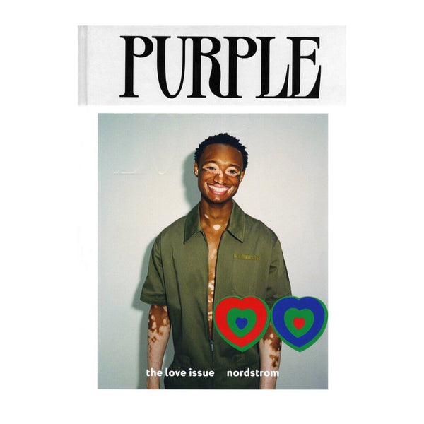 Purple Magazine 34, The Love Issue. Nordstrom by Jason Rodgers Cover.