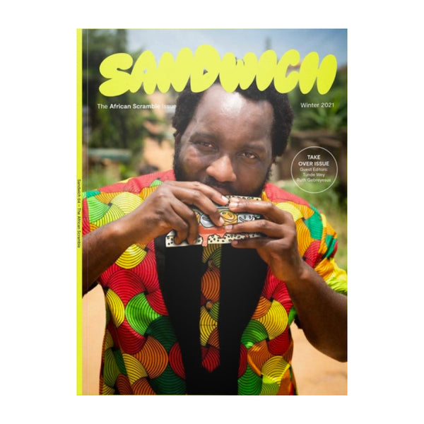Cover of Sandwich Magazine Issue 4, The African Scramble Issue