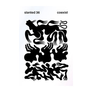 Cover of slanted Magazine Issue 36: coexist.