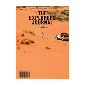The Explorers Journal, the Survival Issue. Vol98 No 2