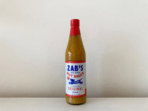Zab's Datil Pepper Sauce