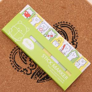 DIY Mini Cute Kawaii Cartoon Animal Memo pad Cat Panda Music Note Paper Stickers Korean Stationery Free shipping