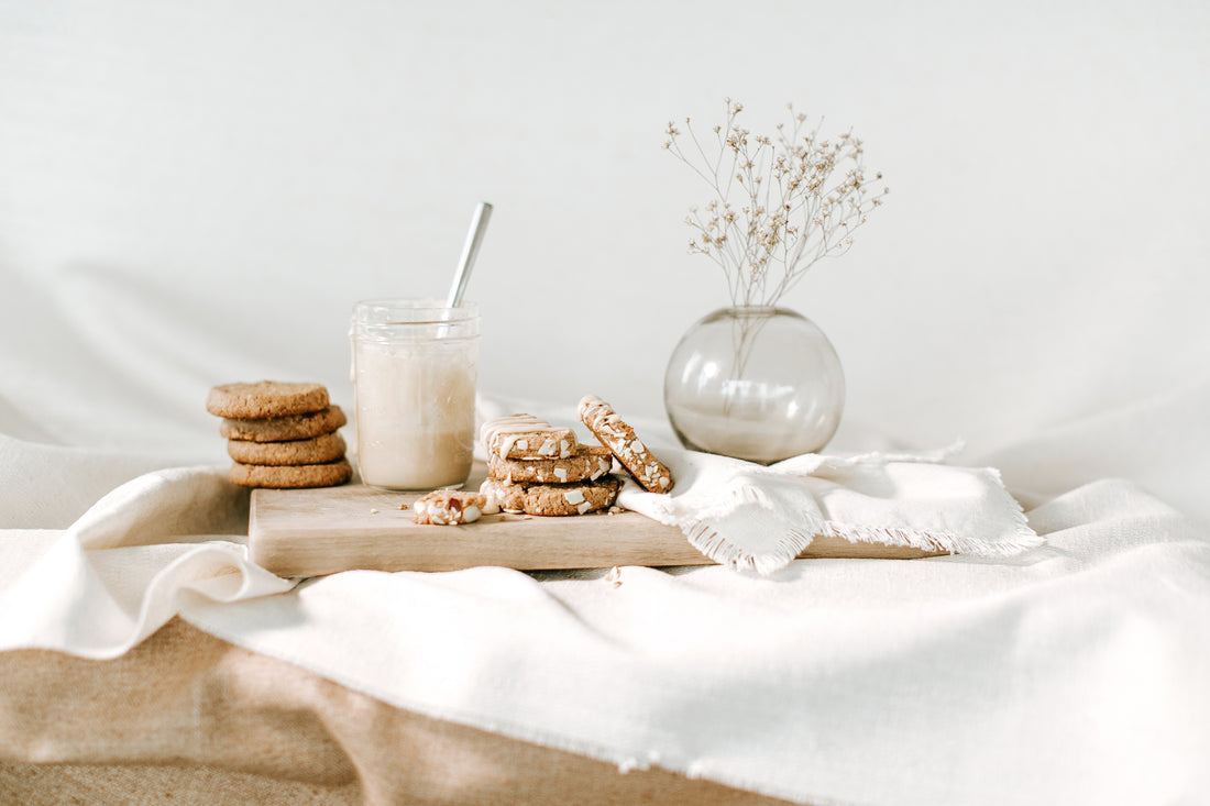 Almond Butter and Meringue Mound Cookie Recipes