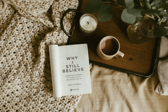 "Interview with Former Atheist Mary Jo Sharp, Author of ""Why I Still Believe"""