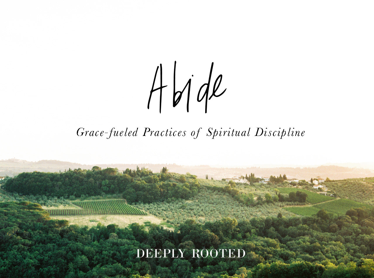 Abide: Grace-Fueled Practices of Spiritual Discipline