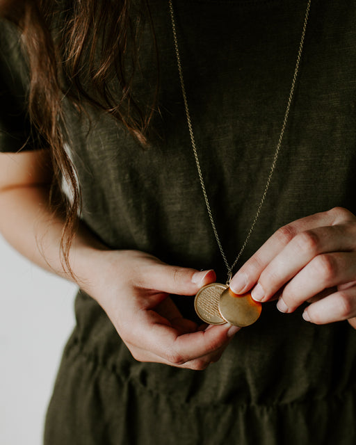 The Lord's Prayer Swivel Locket (Pre-order)