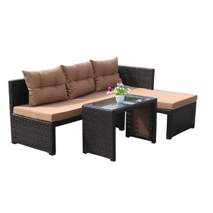 Sweet Adjustable Sofa Set, Brown or Grey