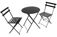 Load image into Gallery viewer, Bistro set, Black