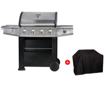Load image into Gallery viewer, Gas BBQ - 4+1 Burners