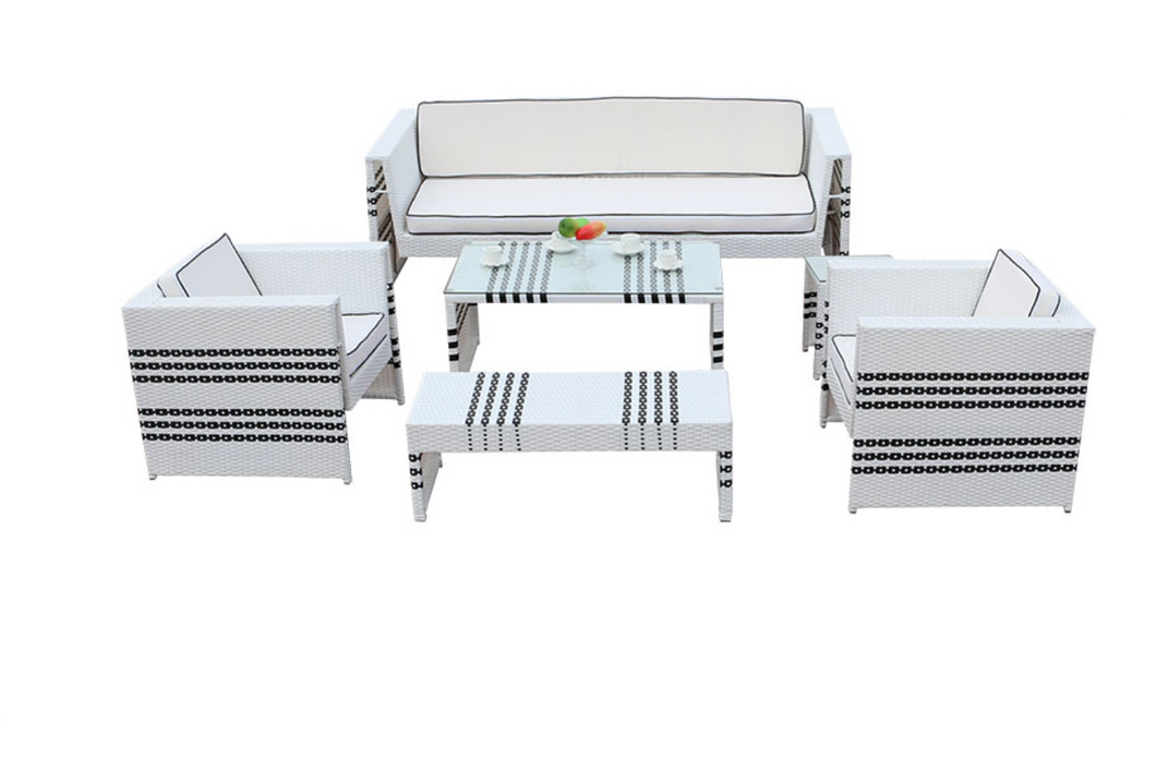 Santorini Lounge Sofa Set