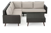 Load image into Gallery viewer, Java Corner Lounge Sofa Set