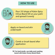 Beard Conditioning Oil – Spicy Citrus - 30ml