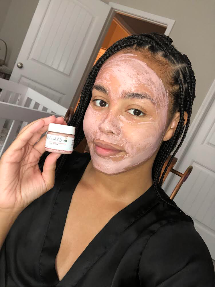 Rose Clay Facial - Mini