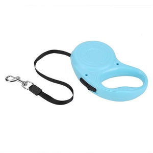 Open image in slideshow, 3/5M Automatic Retractable Dog Leash Belt Puppy Pet Walking Nylon Traction Walking Rope Flat Rope Double Switch Pet Supplies
